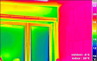 sample thermography image