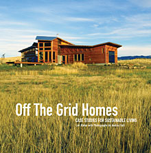 Off the Grid Homes book cover
