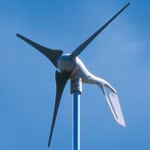 Residential size wind turbine