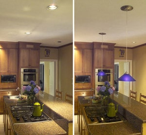 Recessed Ceiling Lights and Pendants