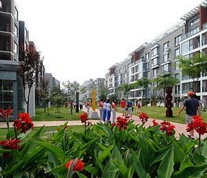 Olympic Village in Beijing