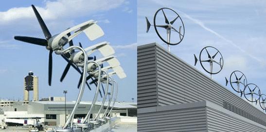 Swift and AeroVironment turbines