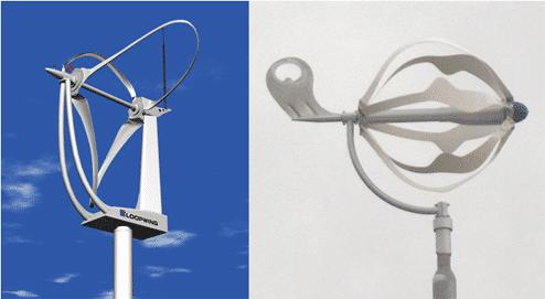 Loopwing and Energy Ball turbines