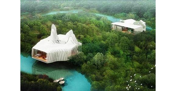 Cool Designs For The Bird Island Dream Green Retreat