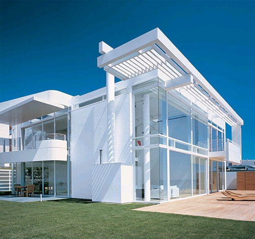 California Architect Thinks About White Roofs Green Building