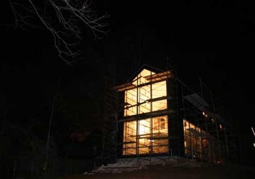 Buffalo House To Weather Rainstorms In Kansas Green