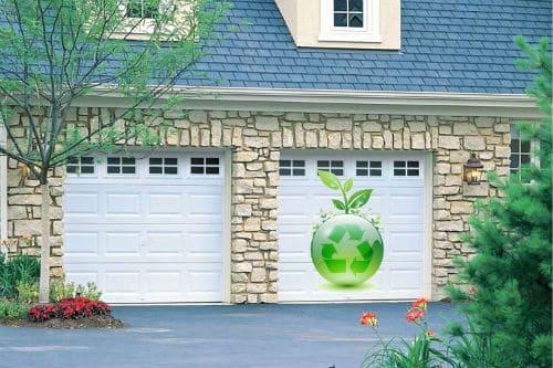 GreenGarageDoor