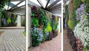 Vertical garden 2Vertical Perennial Wall