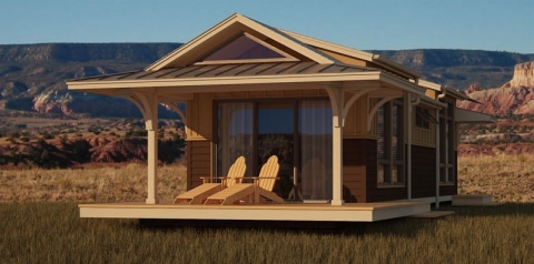Modular homes gain in popularity green building elements - Cost of modular homes vs building ...