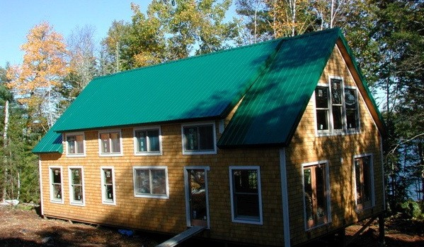Modular homes also come as kits green building elements for Green home building kits