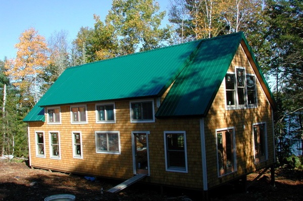 Modular homes also come as kits green building elements for Green kit homes