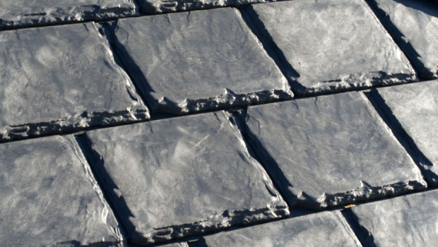 recycled rubber shingles