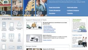 BuildWithGE.com home page