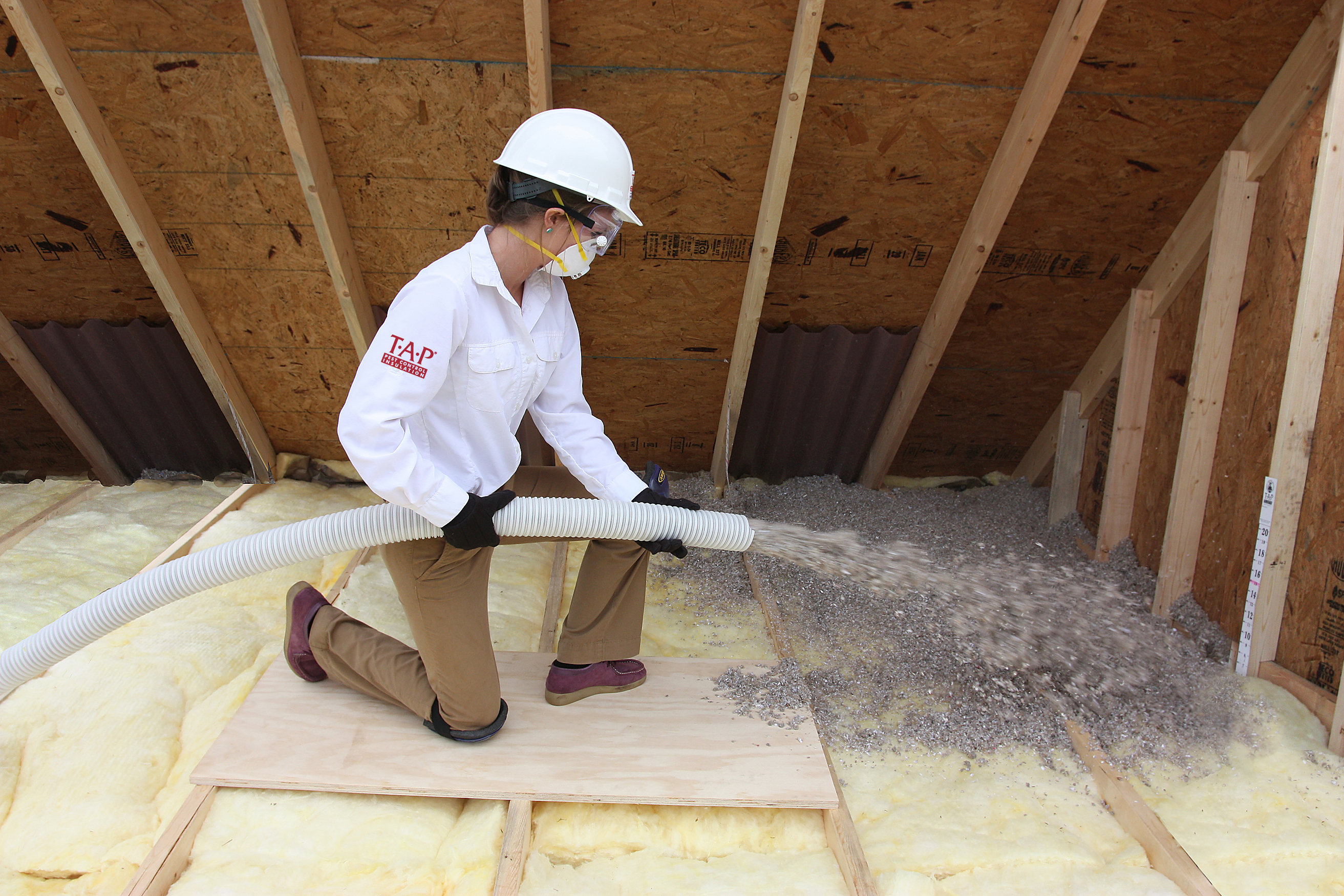 New recycled insulation controls pests green building for Insulation options for new homes