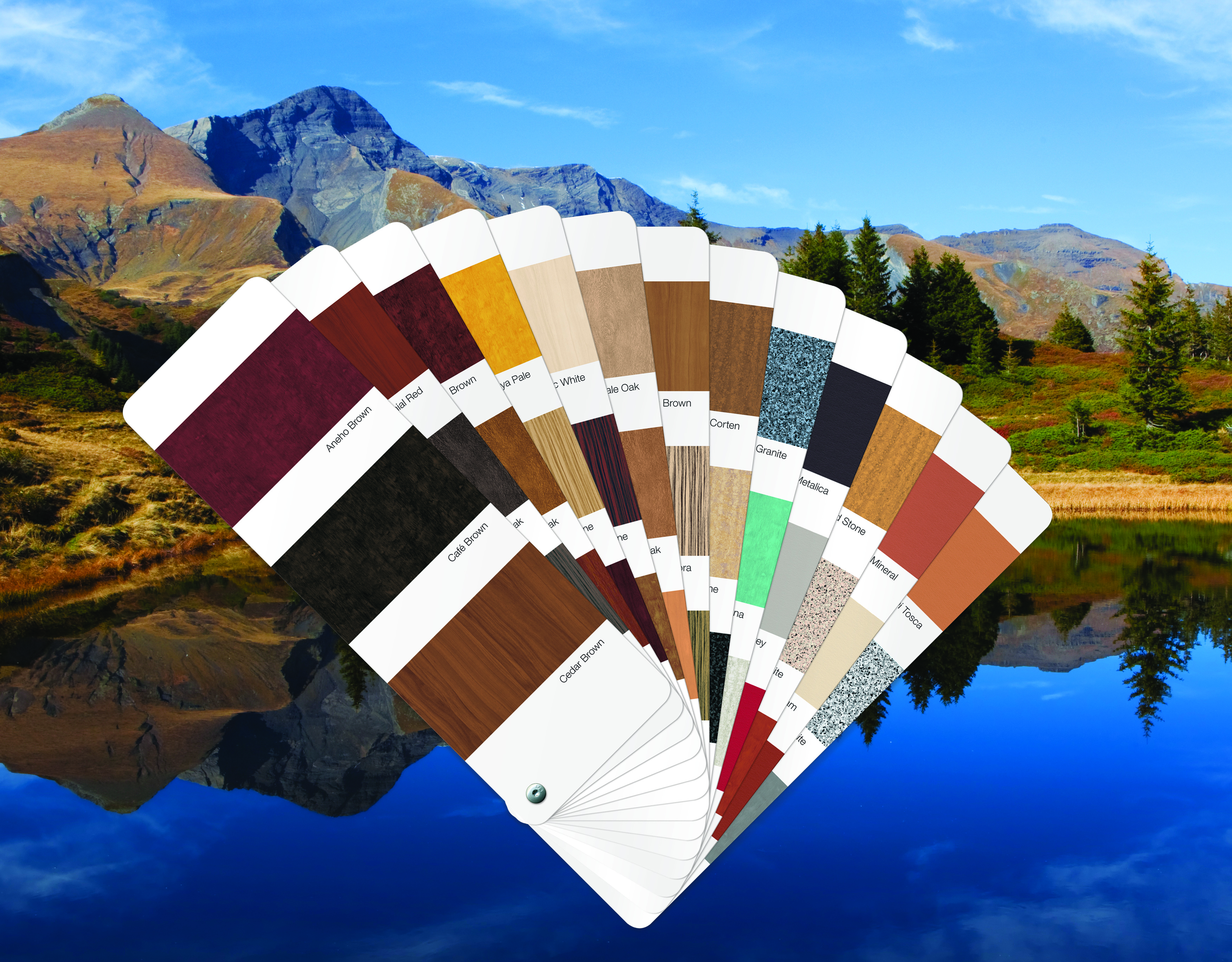 Alcoa Paint Provides Look And Texture Of Natural Finishes