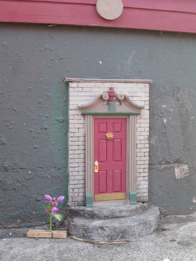 Fairy doors provides a whimsical and uncommon miniature for Mini fairy door