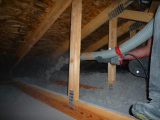 Blowing Insulation An Easy Diy Project With A Huge