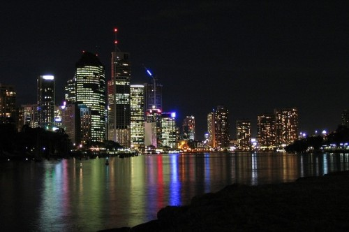 Brisbane atnight