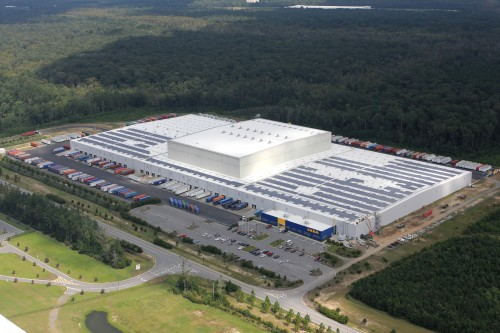 Ikea Plugs In Georgia S Largest Private Solar Rooftop