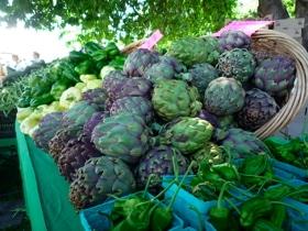 Farmer's Market vegetables.