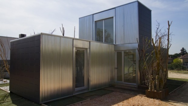 Cso Arquitectura 39 S Modular Housing System Savms Green