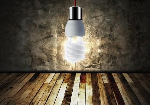 light bulb in empty room shutterstock_122094862