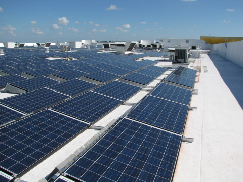ikea plugs in south florida s largest solar energy system. Black Bedroom Furniture Sets. Home Design Ideas