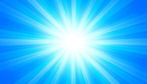 sunlight in blue sky shutterstock_123593497