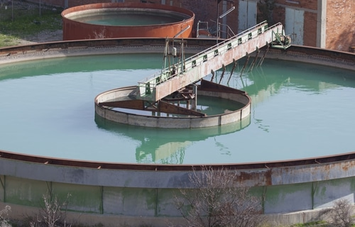 Wastewater treatment tanks shutterstock_129520724