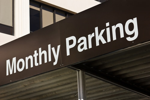 parking sign shutterstock_133238705