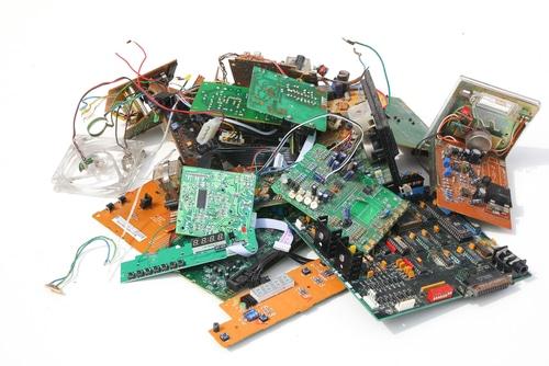 e-waste pile shutterstock_128844043