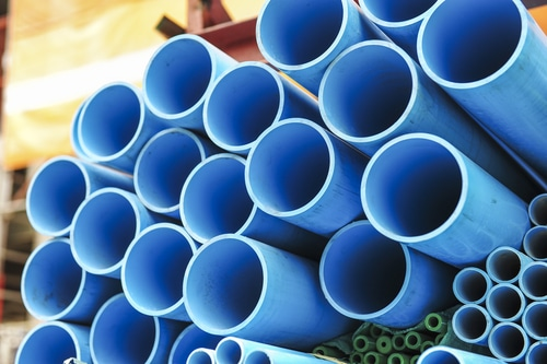 water PVC pipe section shutterstock_142542004