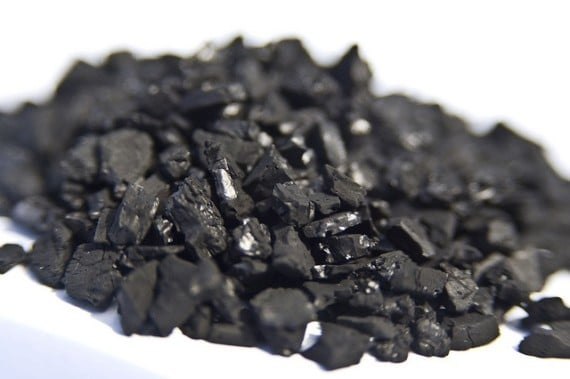 hydrogen fuel from water charcoal