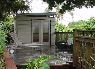 low impact living green weefab mini homes green building elements. Black Bedroom Furniture Sets. Home Design Ideas