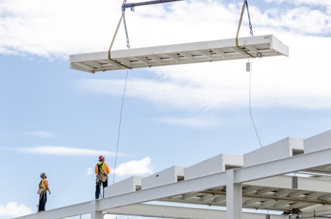 Levi's Stadium Crane Lift