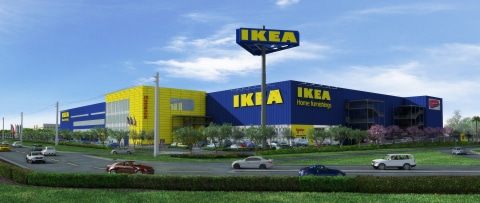 IKEA Architectural_Rendering_of_Future_IKEA_Miami_(opening_by_Fall_2014)