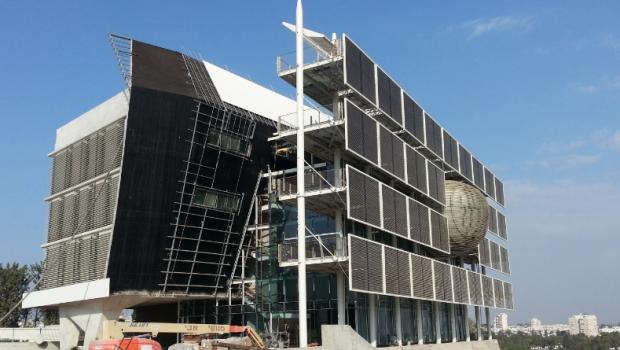 Tel Aviv University LEED AP building Israel