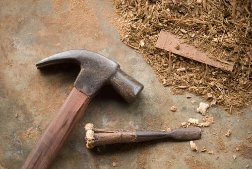 hammer & chisel shutterstock_153635174
