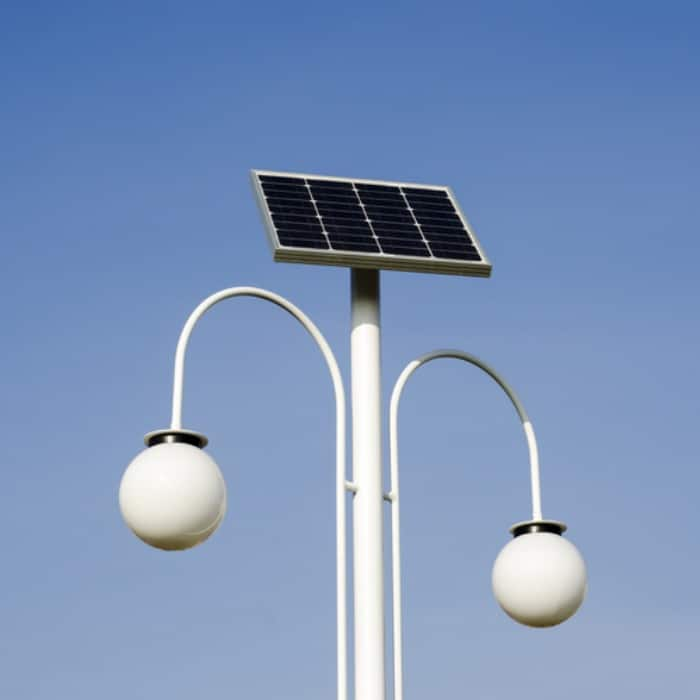 solar panel for powering streetlamp 2 shutterstock_168504854