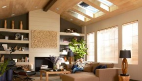 Room with skylights by VELUX