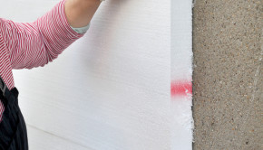 Styrofoam sheet insulation shutterstock_165082661