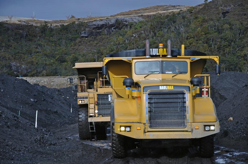 coal trucks shutterstock_183300077