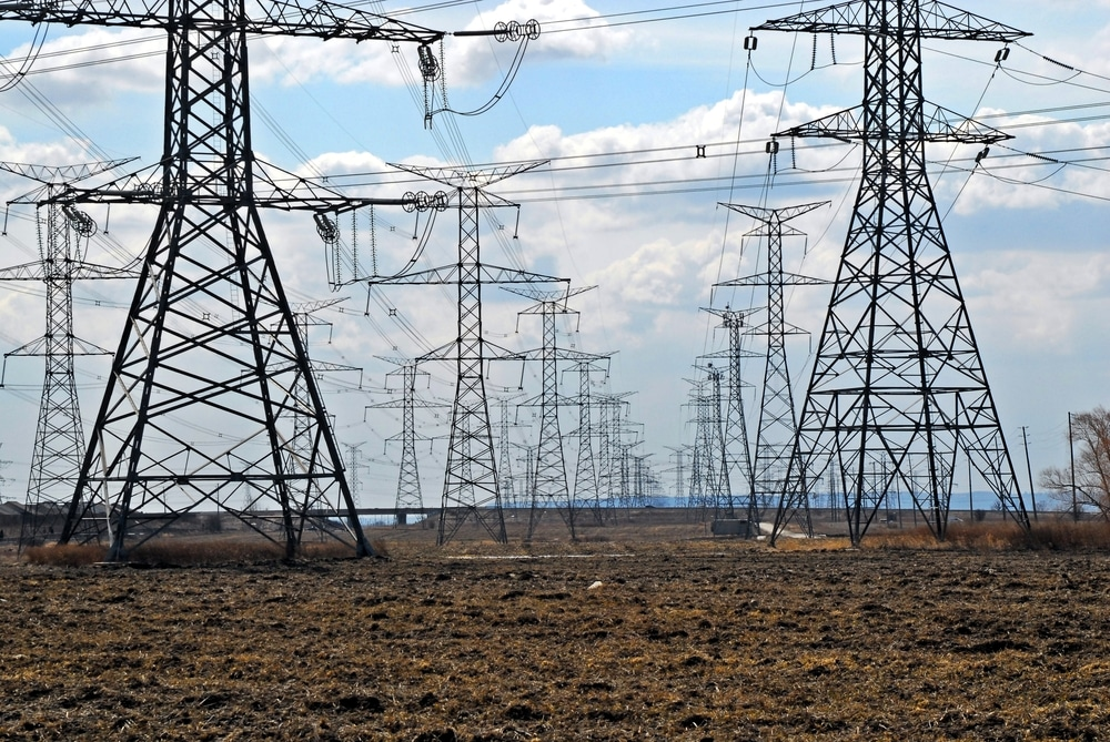 electrical transmission towers shutterstock_186249122