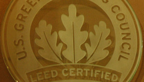LEED plaque by Wonderlane