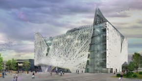 Palazzo Italia's facade will be made of air-purifying cement