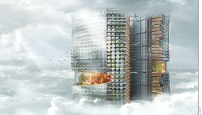 Biotic Tech Skyscraper by GPT Architecture