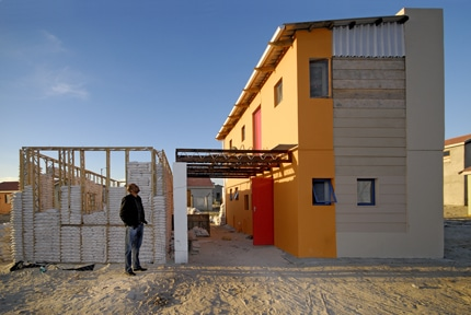 Prizewinning affordable housing green building elements Affordable house construction