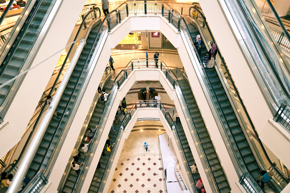 Shopping mall by Shutterstock