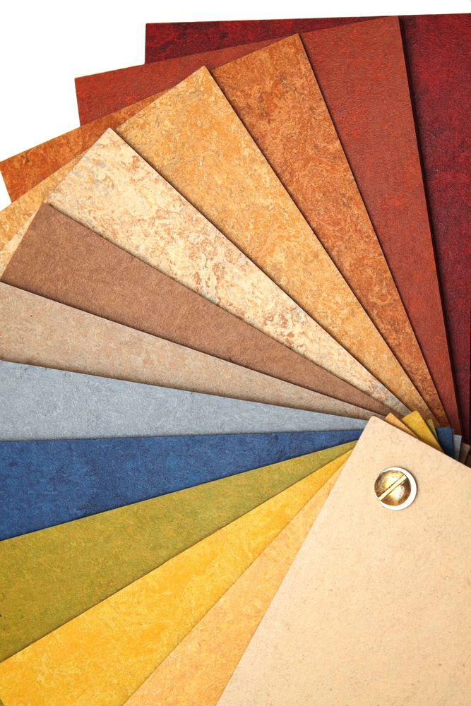 Green materials report linoleum flooring green building for Ecological flooring