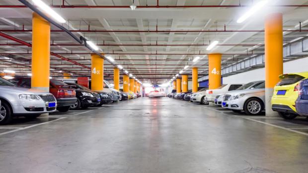 parking garage by shutterstock
